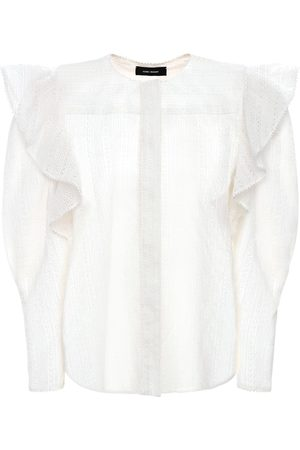 Isabel Marant Getylia Ruffled Cotton Shirt