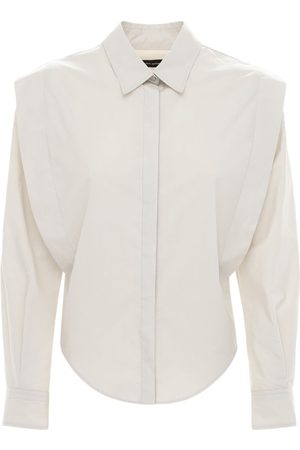 Isabel Marant Women Shirts - Kigali Cotton Poplin Shirt