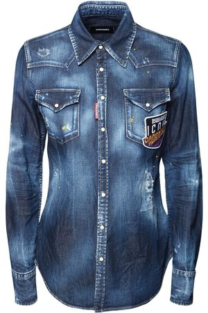Dsquared2 Icon64 Cotton Western Shirt