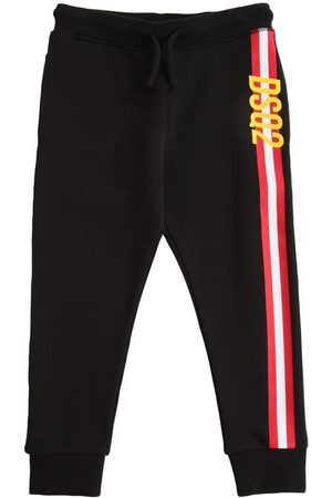 Dsquared2 Logo Print Cotton Sweatpants