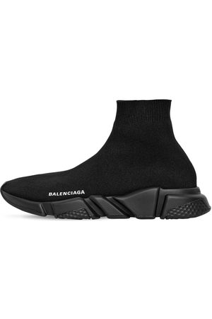 Balenciaga Men Sneakers - Speed Knit Sport Sneakers