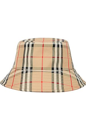 Burberry Check Bucket Hat in