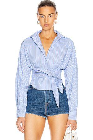 Marissa Webb Emmerson Striped Shirt in ,Stripes