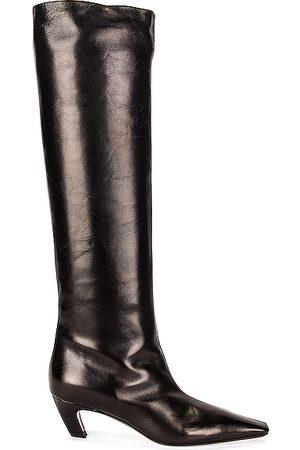 Khaite Davis Knee High Boots in