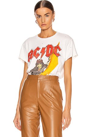 Madeworn ACDC High Voltage Crew Tee in