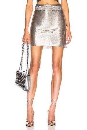 FANNIE SCHIAVONI Malin Skirt in Metallic