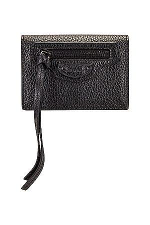 Balenciaga Wallets - Neo Class Mini Wallet in