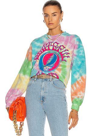 Madeworn Grateful Dead Sweatshirt in , ,Ombre & Tie Dye