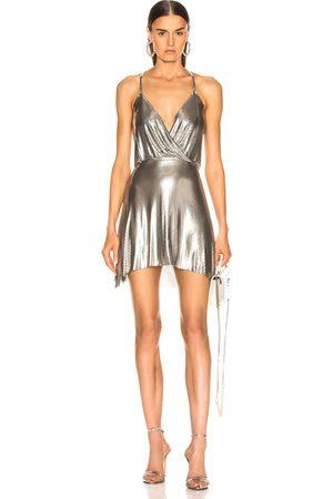 FANNIE SCHIAVONI Jourdana Dress in Metalic