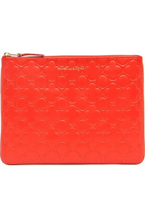 Comme des Garçons Clover Embossed Pouch in