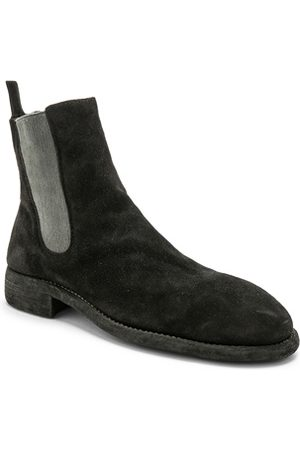 GUIDI Suede Chelsea Boots in