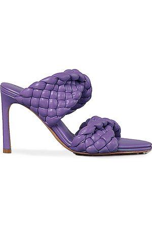 Bottega Veneta Padded Woven Leather Sandals in