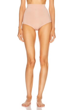 Wolford Cotton Contour Control Panty in Neutral