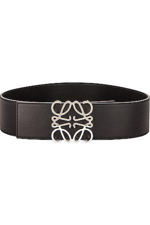 Loewe Belts - Anagram Wide Belt in