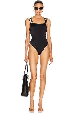 VERSACE Simple One Piece Swimsuit in