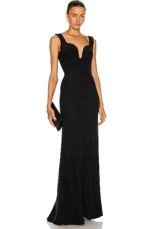 Alexander McQueen Sleeveless Dresses - Sleeveless Gown in