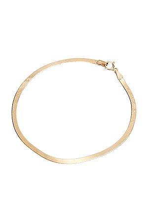 LOREN STEWART Bracelets - Herringbone Bracelet in Metallic