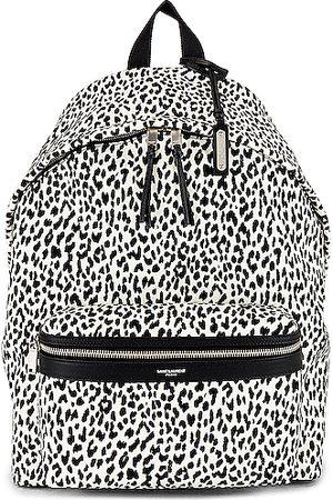 Saint Laurent Purses - YSL Bag City Backpack in ,Animal Print