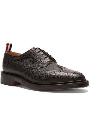 Thom Browne Formal Shoes - Classic Long Leather Wingtips in