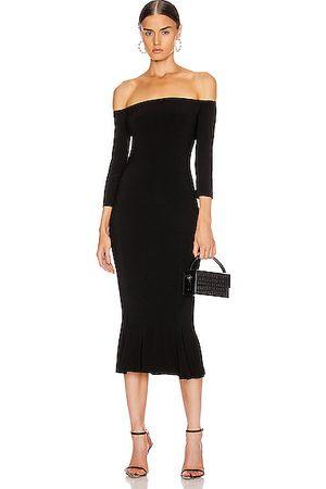Norma Kamali Women Strapless Dresses - Off Shoulder Fishtail Dress in