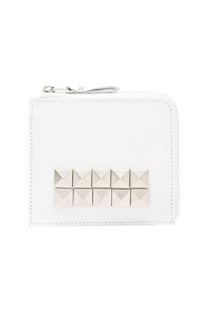 Comme des Garçons Wallets - Studded Leather Zip Wallet in
