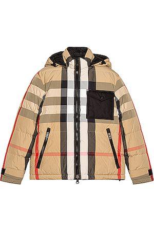 Burberry Men Parkas - Rutland Down Jacket in , ,Plaid