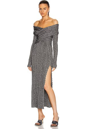 Altuzarra Women Strapless Dresses - Mattie Dress in Metallic