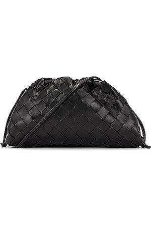 Bottega Veneta Clutches - Mini Leather Woven Pouch Clutch Crossbody Bag in