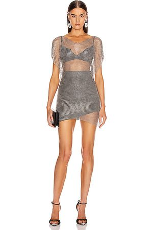 FANNIE SCHIAVONI Tops - Eva Top in Metallic