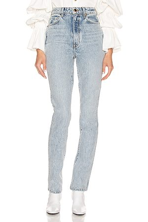 Khaite Straight - Daria Jean in Denim Light