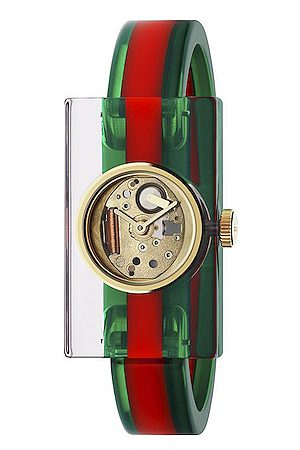 Gucci Watches - Vintage Web 24 x 40mm Watch in , ,Stripes