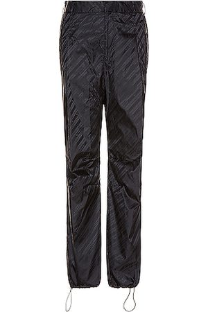 Givenchy Sweatpants - Chain Jacquard Nylon Jogger in ,Abstract
