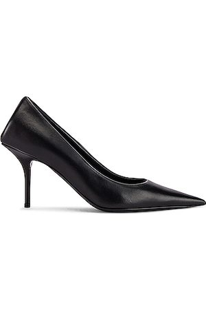 Balenciaga Heels - Square Knife Pumps in