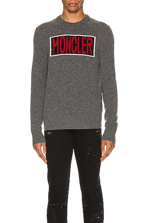 Moncler Sweaters - Knit Crewneck Sweater in