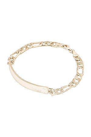 LOREN STEWART Bracelets - Wanderlust ID Bracelet in Metallic