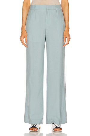 Givenchy Wide Leg Pants - Long Masculine Trouser in