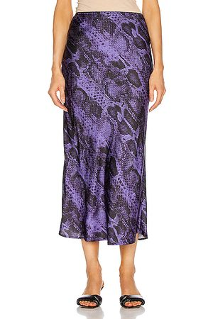 Andamane Printed Skirts - Bella Midi Skirt in Animal Print