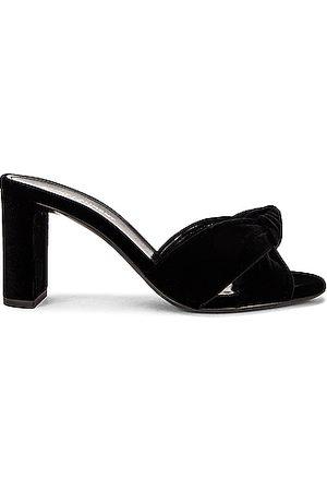 Saint Laurent Loulou Mule Sandals in