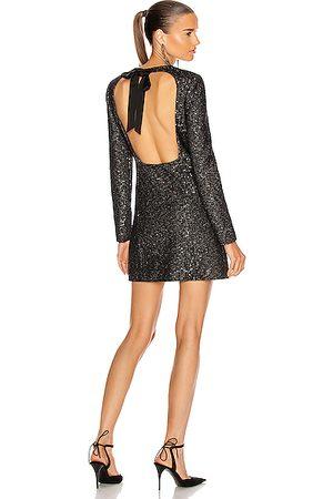 Saint Laurent Party Dresses - Cocktail Mini Dress in ,Metallic