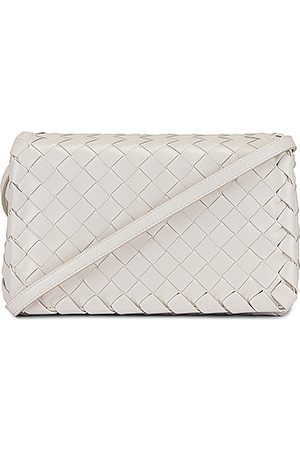 Bottega Veneta Purses - Leather Woven Crossbody Bag in