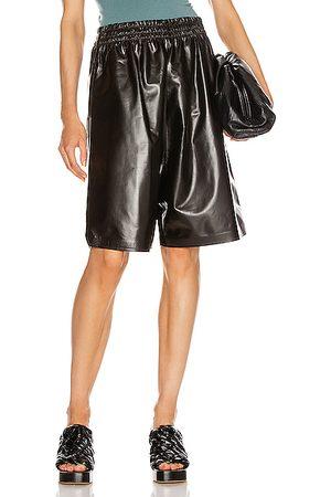 Bottega Veneta Bermudas - Leather Bermuda Short in