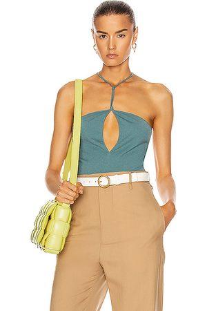 Bottega Veneta Sleeveless Bodysuit in
