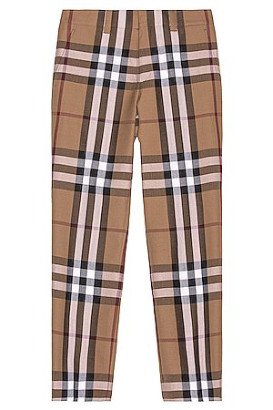 Burberry Check Trousers in ,Plaid