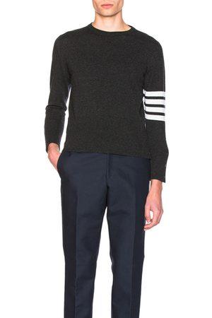 Thom Browne Sweaters - Classic Cashmere Crewneck Sweater in