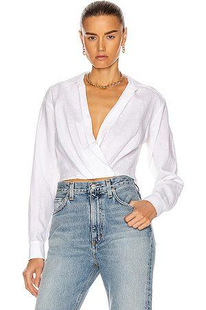 Marissa Webb Long sleeves - Maxwell Linen Shirt in