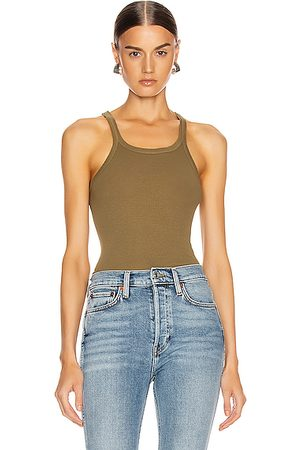 RE/DONE Tank Tops - Ribbed Tank in