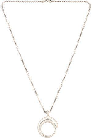Khiry Khartoum Pendant Necklace in Metallic