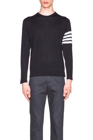 Thom Browne Classic Merino Crewneck Sweater in