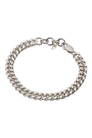 LOREN STEWART Big Daddy Chain Bracelet in Metallic