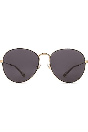 Givenchy Metal Round Sunglasses in ,Metallic